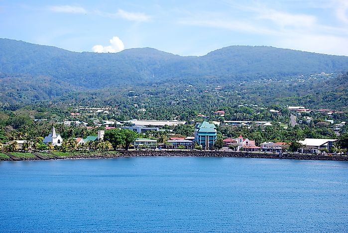 What Is The Capital Of Samoa?