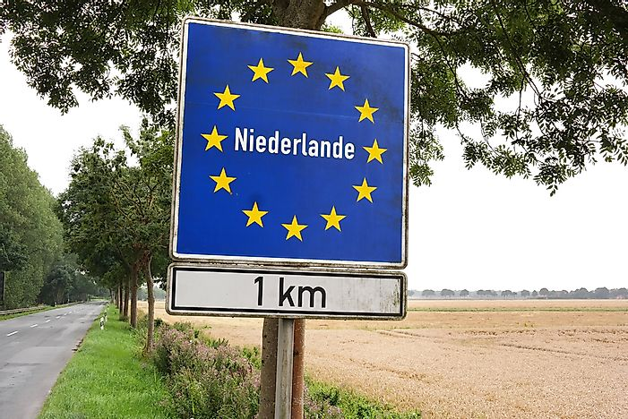 Which Countries Border The Netherlands?