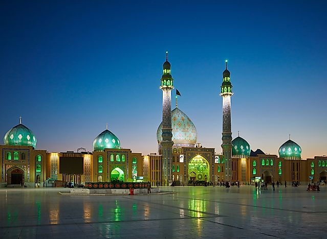 The Jamkaran Mosque, Iran. Editorial credit: SJ Travel Photo and Video / Shutterstock.com.
