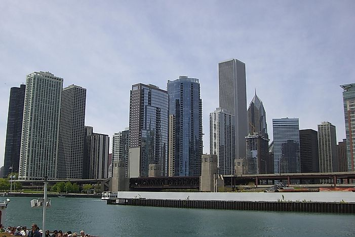 #5 Chicago, United States - 116 Skyscrapers