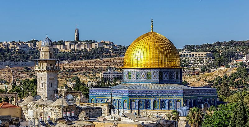 Dome of the Rock in Jerusalem.