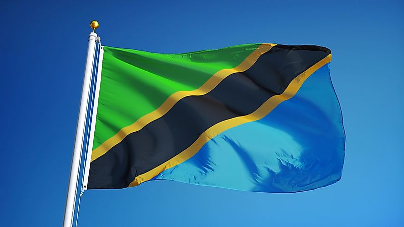 Image result for tanzanian flag meaning