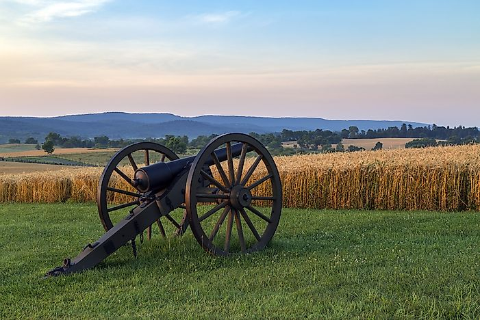 #5 Battle of Antietam (1862) -