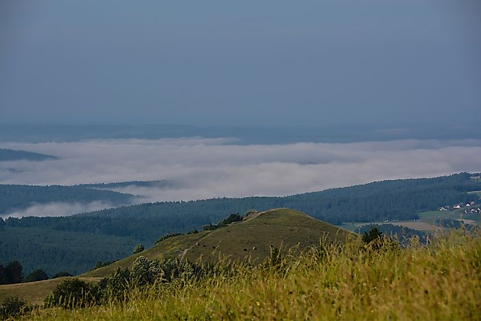 Where Are the Rhön Mountains Located?
