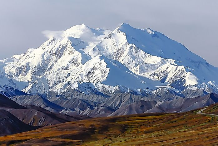 Highest Mountain Summits In The United States