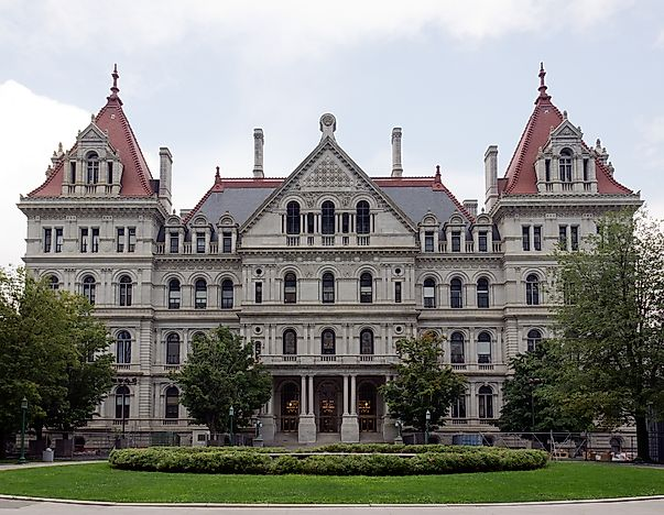 #1 New York State Capitol