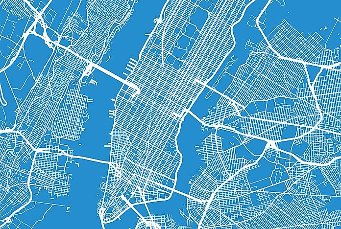Nyc Boroughs Map The Boroughs of New York City – NYC Boroughs Map   WorldAtlas.com
