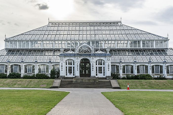 What Is Unique About The Kew Garden's Temperate House?