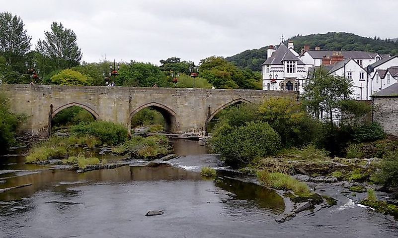 #5 Llangollen Bridge -