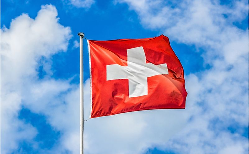 #5 The Flag Of Switzerland Is Square-shaped -