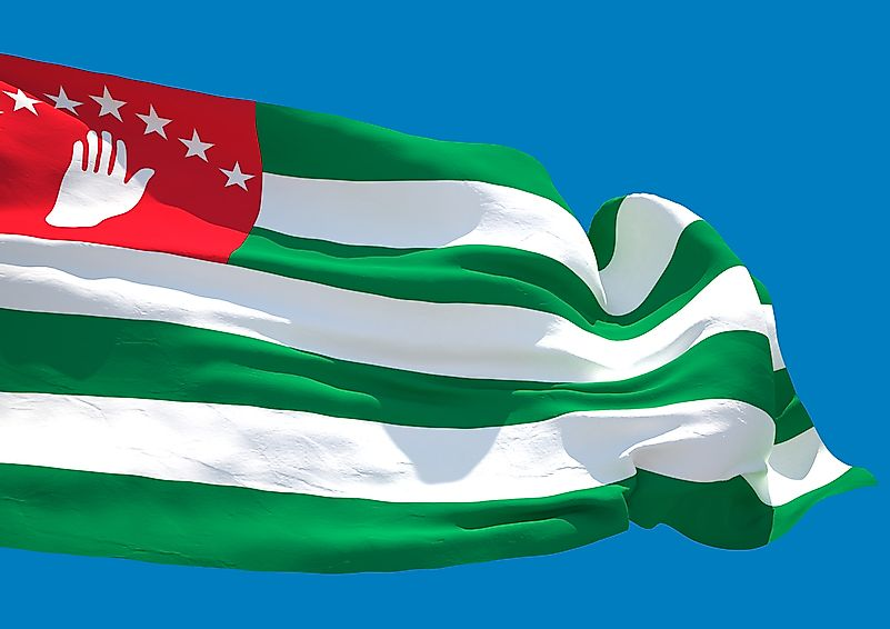 Flag of the Republic of Abkhazia.