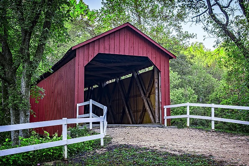 #7 Sandy Creek Covered Bridge