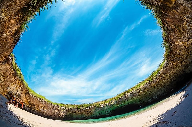 #8 Playa del Amor (Hidden Beach), Mexico -