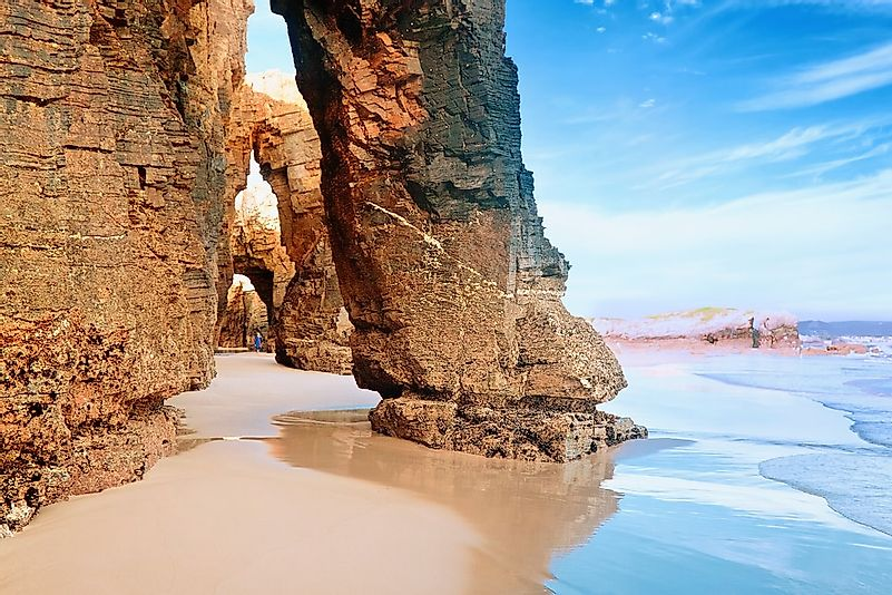 #1 Beach of the Cathedrals, Spain
