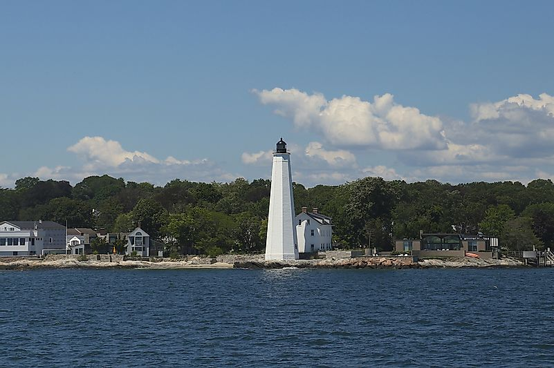 #1 New London Harbor Light - 1760