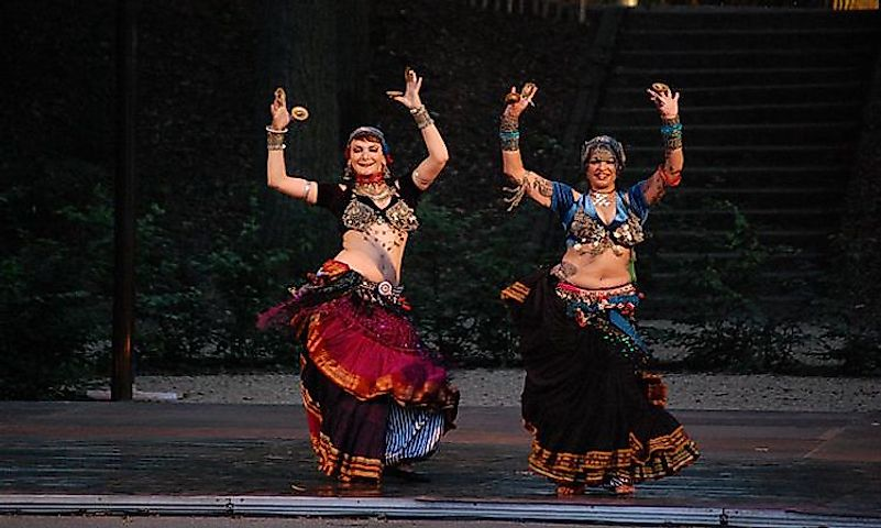 #6 Belly Dance, Middle East -