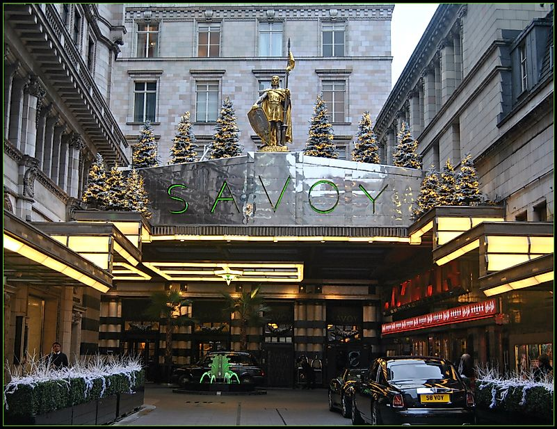 The American Bar, The Savoy, London, England. Image credit: Loco Steve/Flickr.com