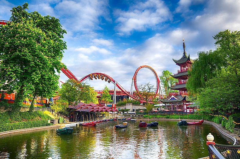 #4 Tivoli Gardens - 4.6 million visitors