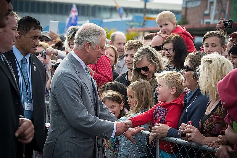 Prince Charles' meeting people. Image credit: New Zealand Defence Force from Wellington, New Zealand/Wikimedia.org