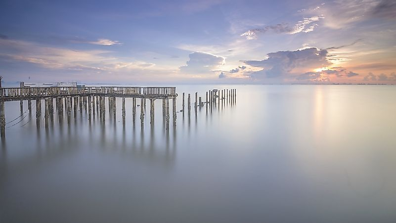 Tanjung Piai is the southernmost point in mainland Asia.