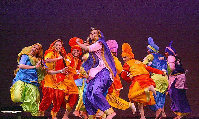#1 Bhangra, India -