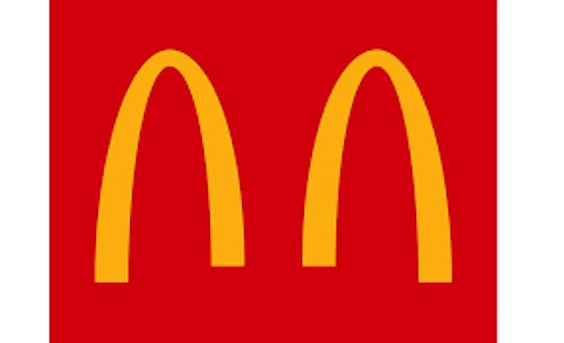 The new McDonalds logo promoting social distancing. Image credit: www.packagingstrategies.com
