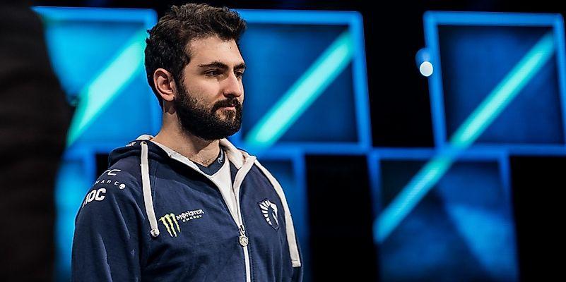 Maroun Merhej won $2 million at the International 2017 tournament. Image credit: www.monsterenergy.com