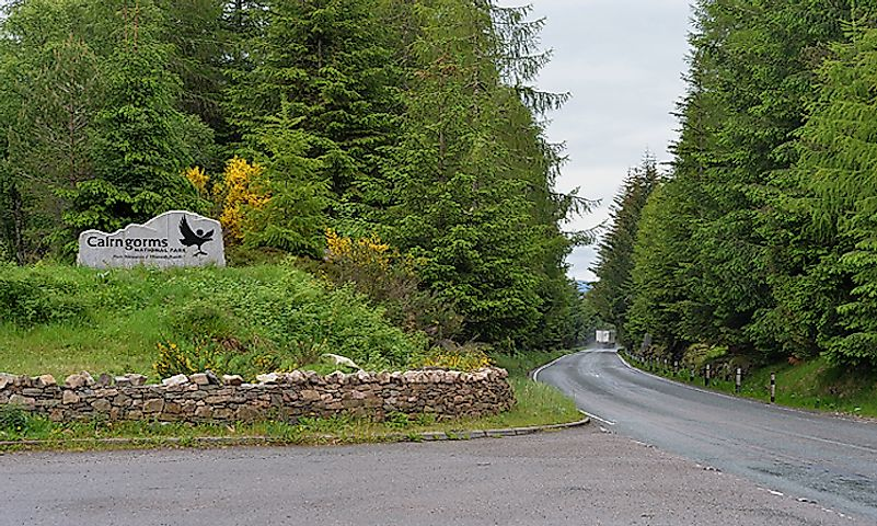 #4 Cairngorms National Park -