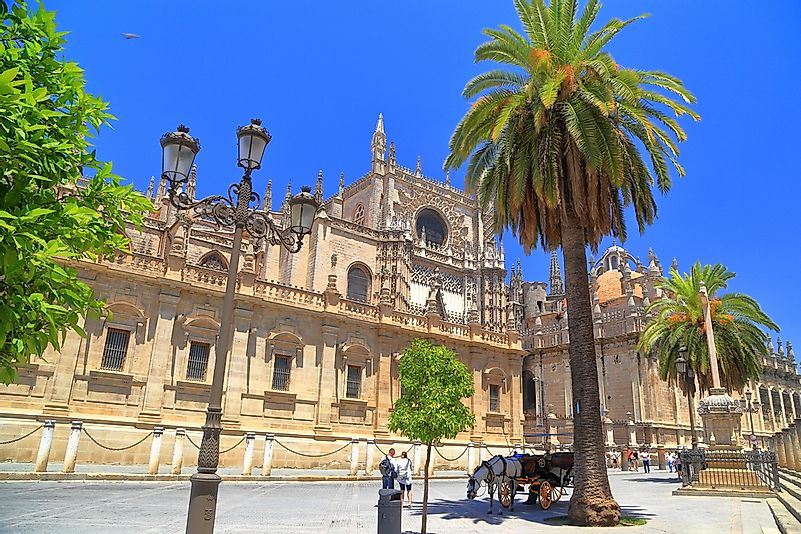 The Seville Cathedral.