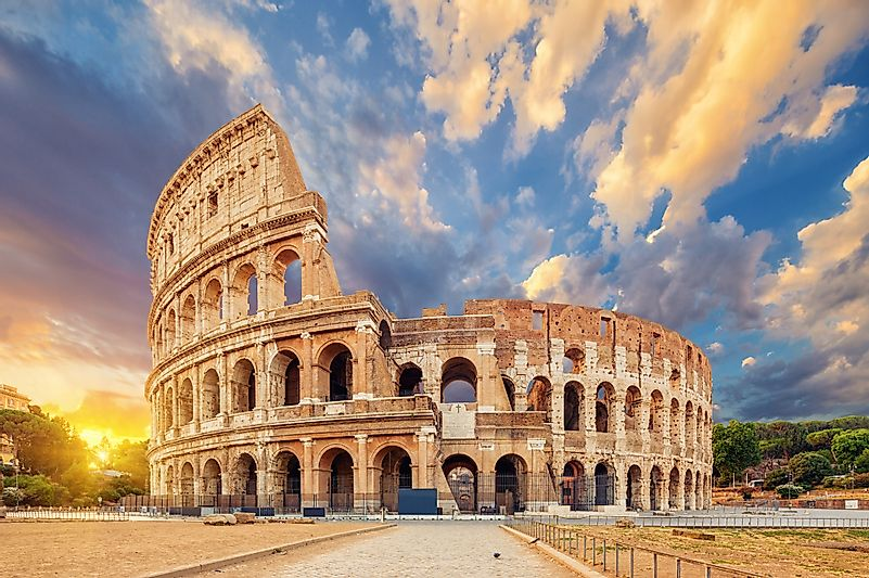 #4 Colosseum - Italy