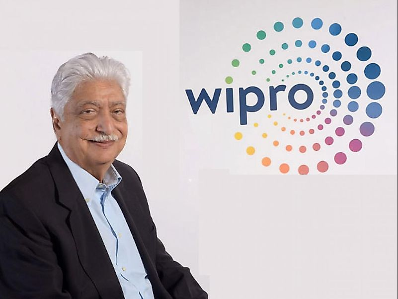 Azim Premji has committed $134 million to be used for humanitarian aid to fight COVID-19. Image credit: www.business-standard.com