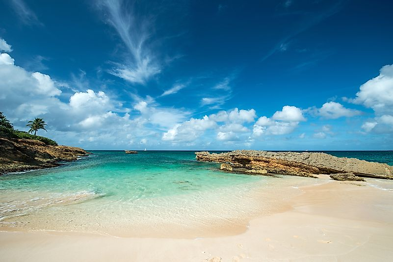 The beaches of Anguilla.