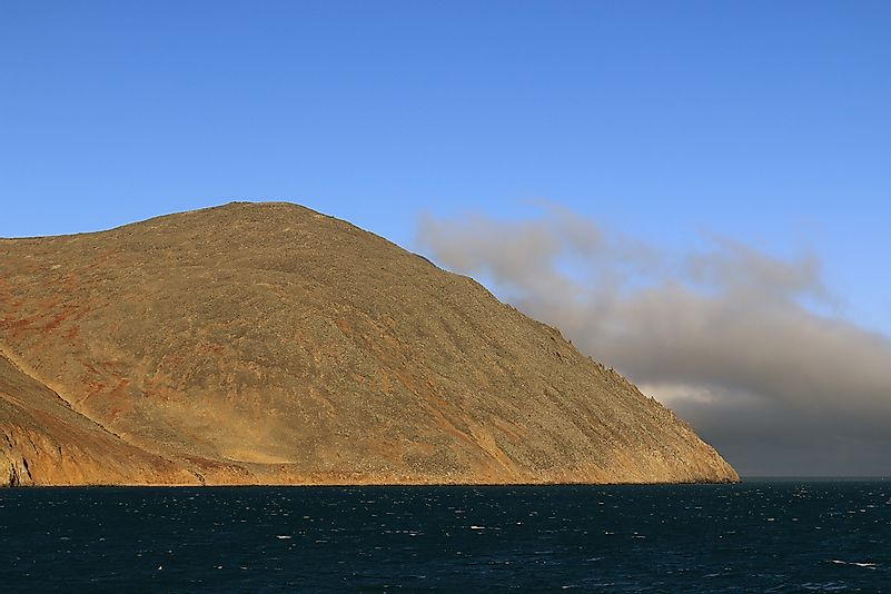 Cape Dezhnev is the easternmost point of mainland Asia.