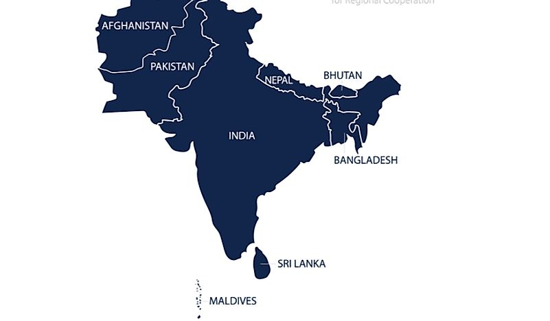The Five Regions of Asia - Asia Countries and Regions ...