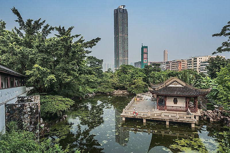 Kowloon Walled City Park.