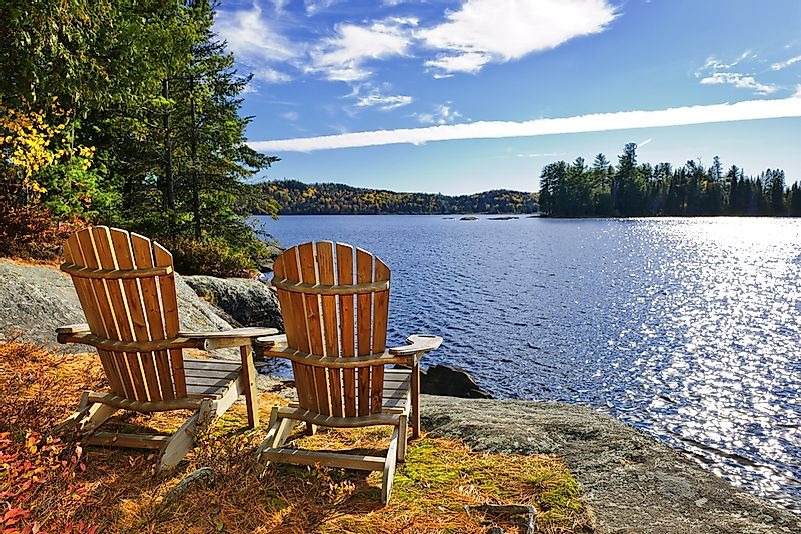 A relaxing scene in Muskoka.