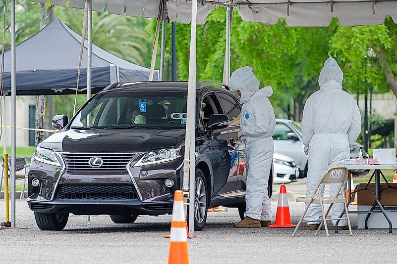 #5 Drive-Thru Testing Booths
