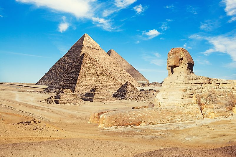 #2 Great Pyramid - Egypt (Honorary Candidate)