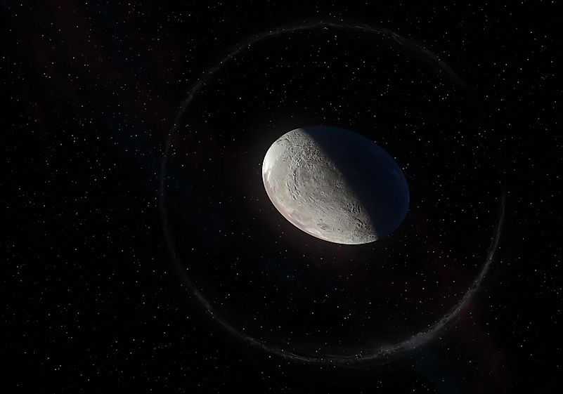 A concept of the Haumea ellipsoidal dwarf planet