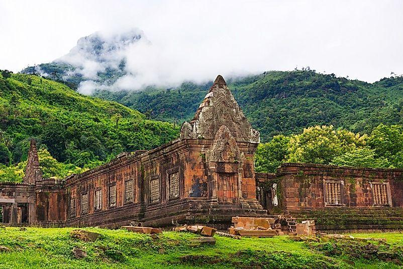Vat Phou Temple And Champasak Culture Sites In Laos