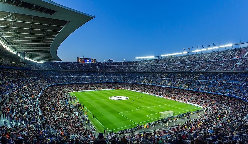The 10 Largest Sports Stadiums In Europe