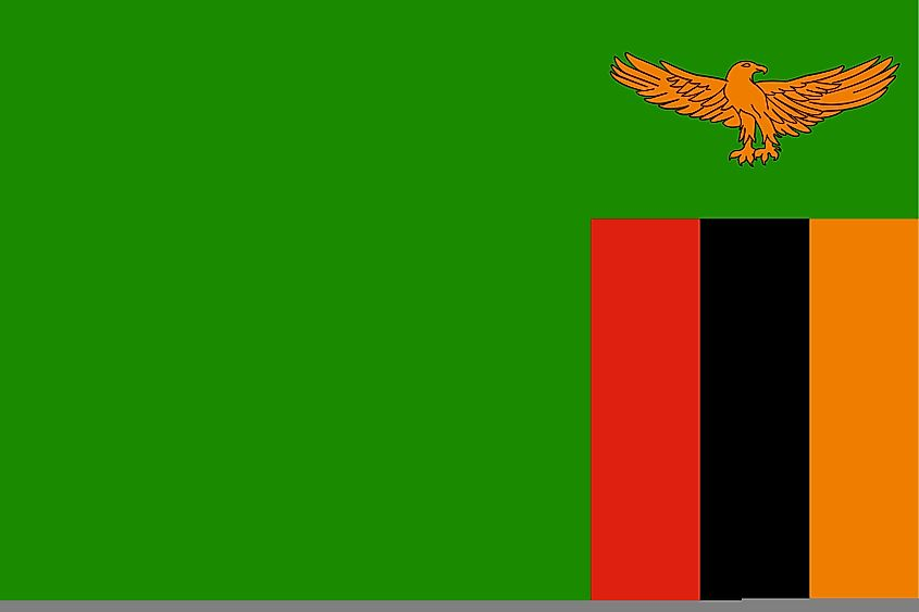 Flags, Symbols & Currency of Zambia - World Atlas