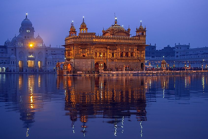 The Golden Temple At Amritsar, Punjab, India: The Holiest Site Of Sikhism
