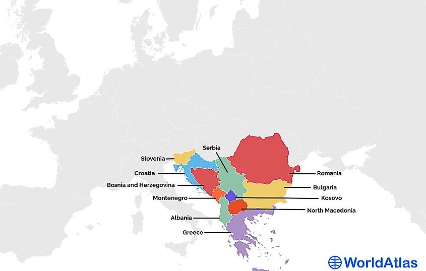 Balkan Countries
