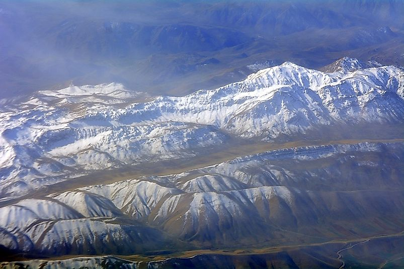 The majestic Zagros Mountains of Persia.