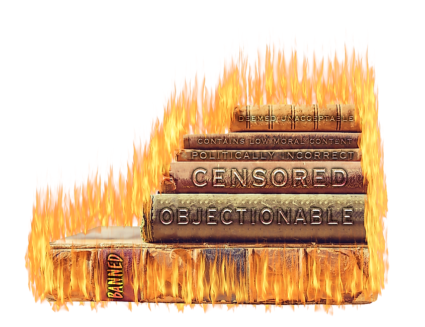 Media and publications are often the prime targets of censorship.
