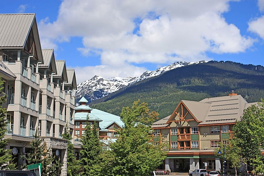 Whistler is a top ski and tourist destination, as well as voted one of the best cities in BC to live.