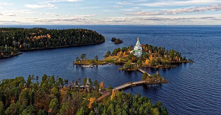 Lake Ladoga - WorldAtlas
