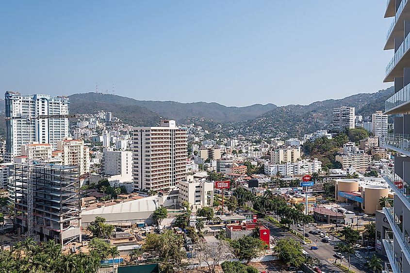 Panoramic view of Acapulco City. Image credit: Suriel Ramzal/Shutterstock.com