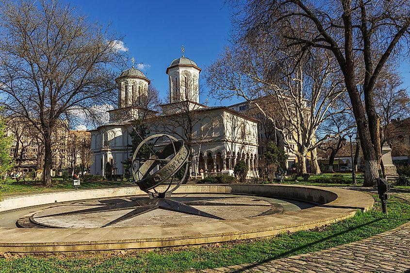 Monumentul Kilometru Zero, București